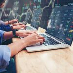 Business man trading investments stock market Financial Planning Qld